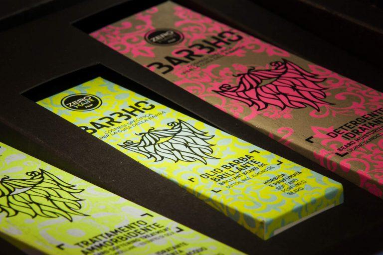 Il packaging Barbho. Un esclusivo cofanetto con fascia