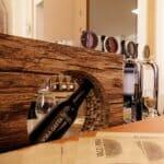 Roba da Mastri. Il salone della birra allestito con cartone alveolare