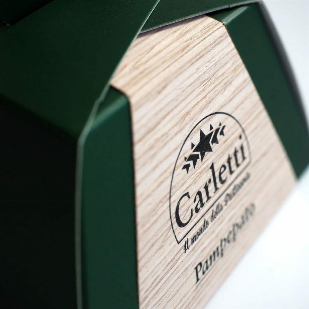 Scatola pasticceria legno