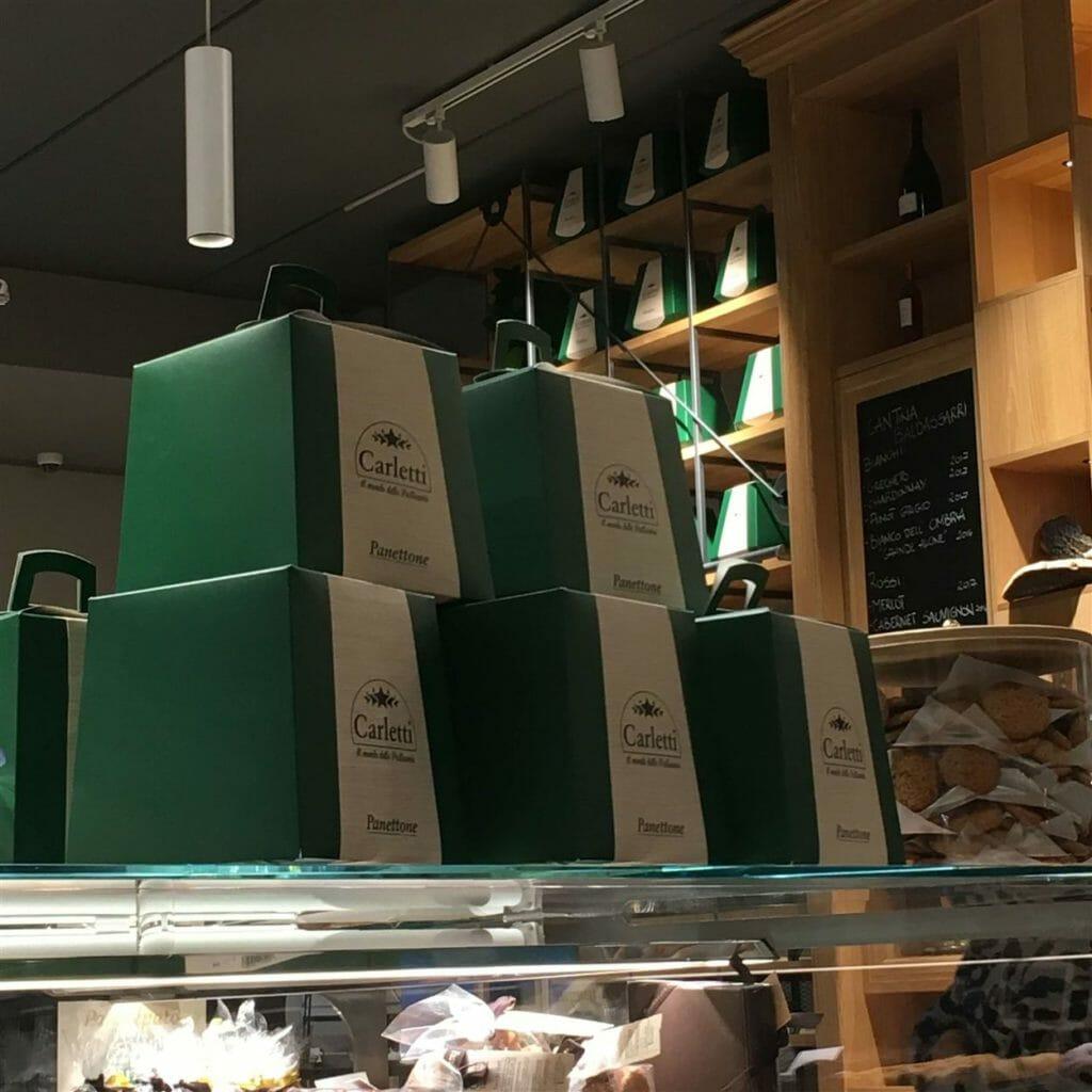 scatole panettone legno
