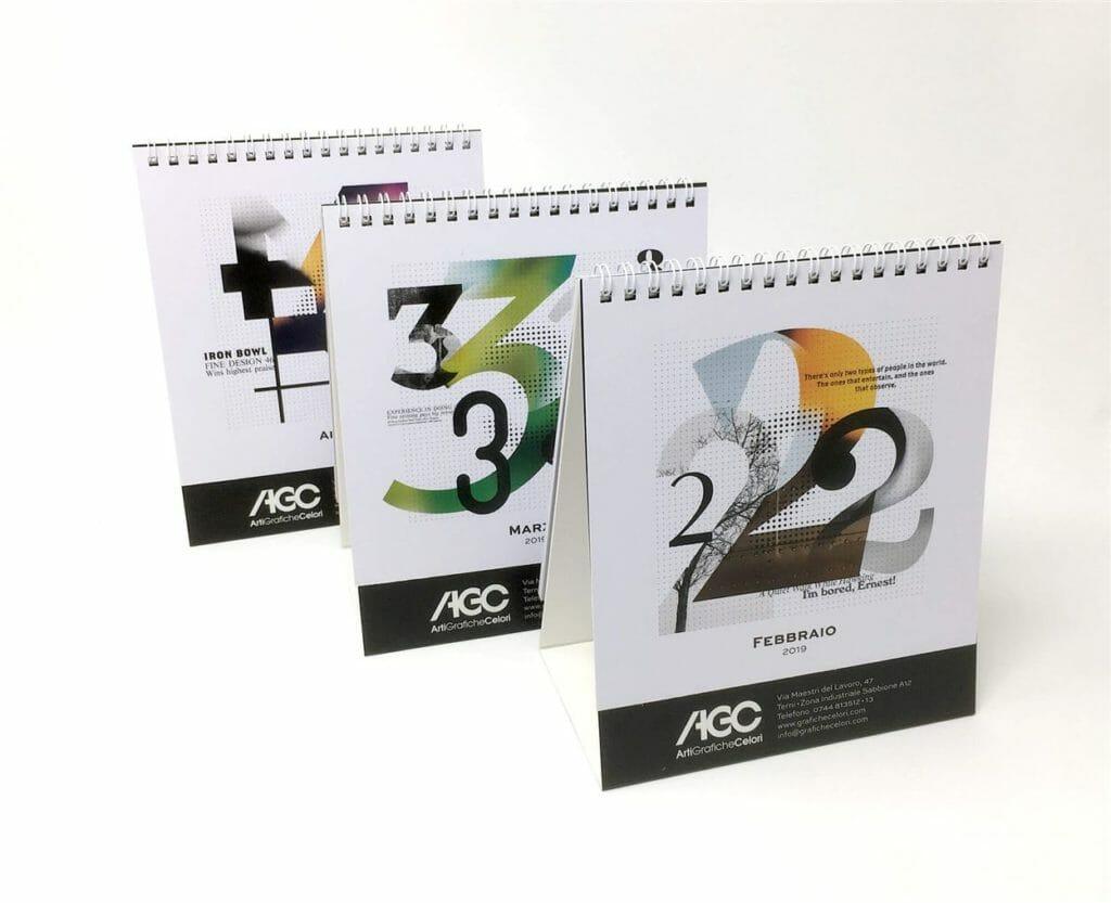 calendari da tavolo agc