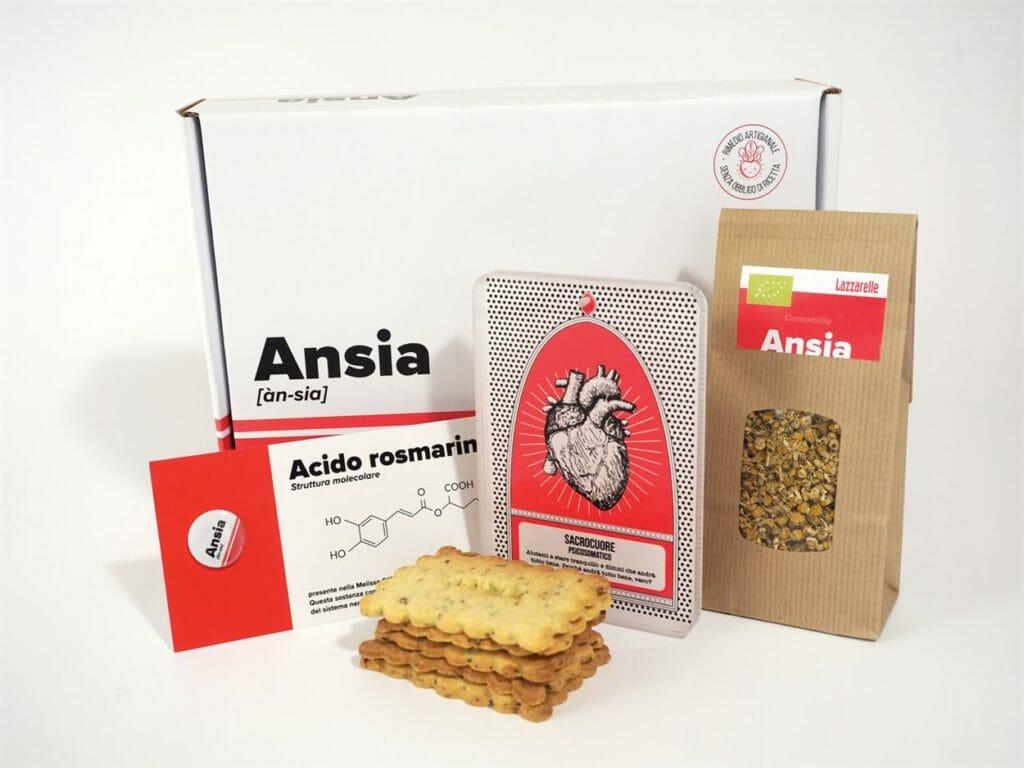 pack biscotti e tisana