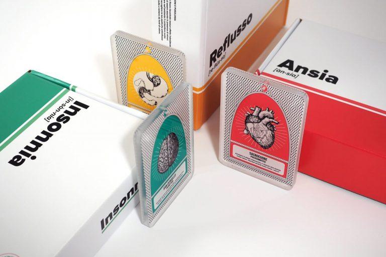 Un packaging ironico per prendersi gioco delle proprie ansie