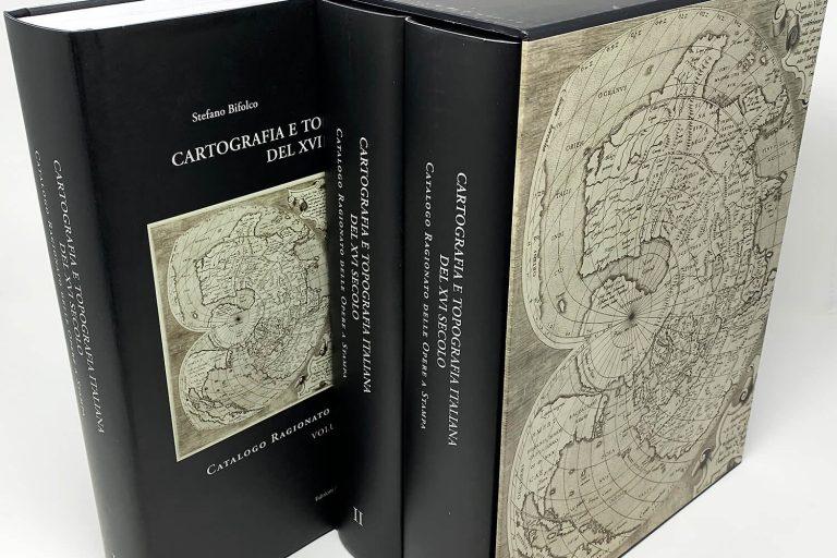 I tomi in edizione limitata sulla cartografia e topografia italiana