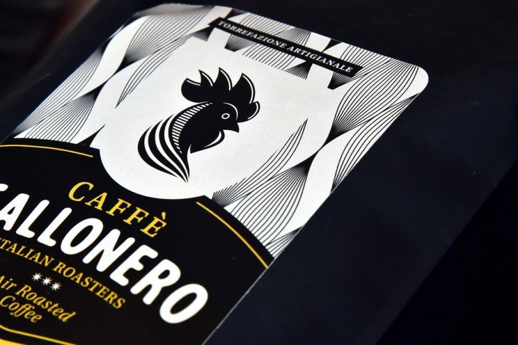 etichette caffe