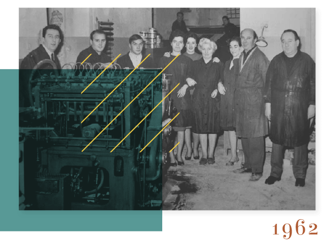 tipografia Terni - il peridodo Linotype