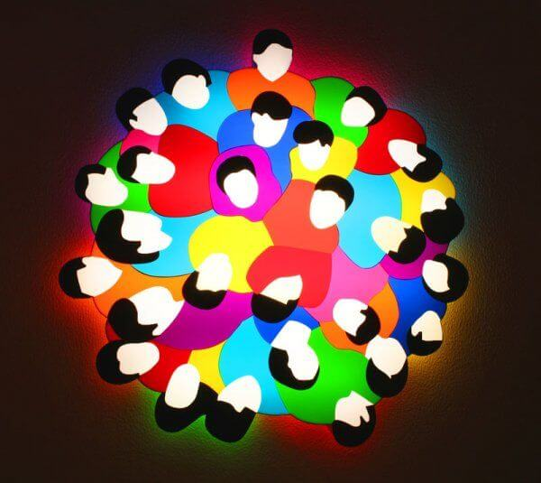 Marco Lodola, Light Sculpture (Plexiglass e Neon)