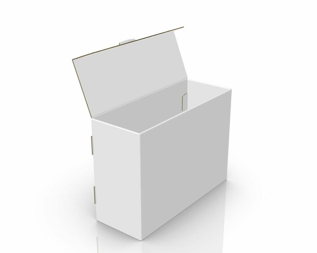 Progettazione 3D box cartotecnica
