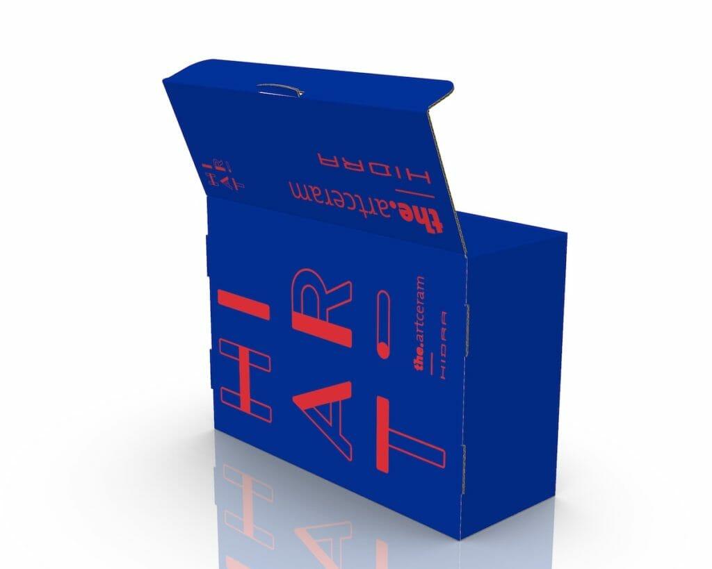 Dettaglio progettazione box cartone ondulato