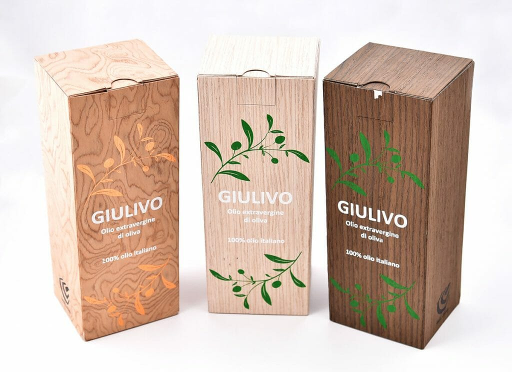 packaging lusso legno