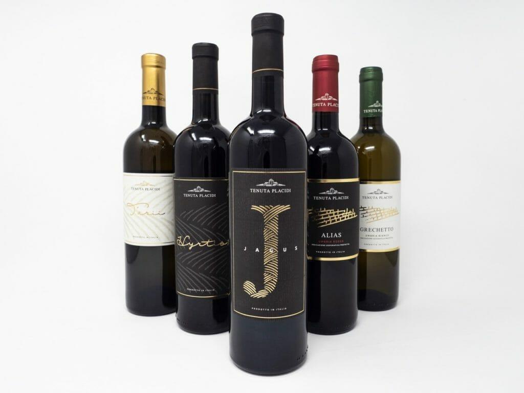 Collezione vini tenuta placidi