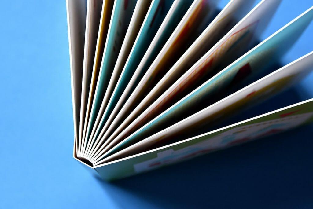 dettaglio pagine libro cartonato bambini
