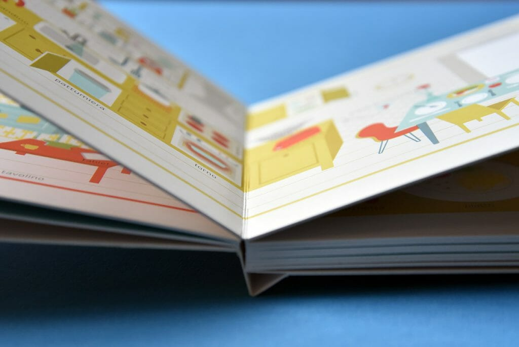 rilegatura libro cartonato bambini