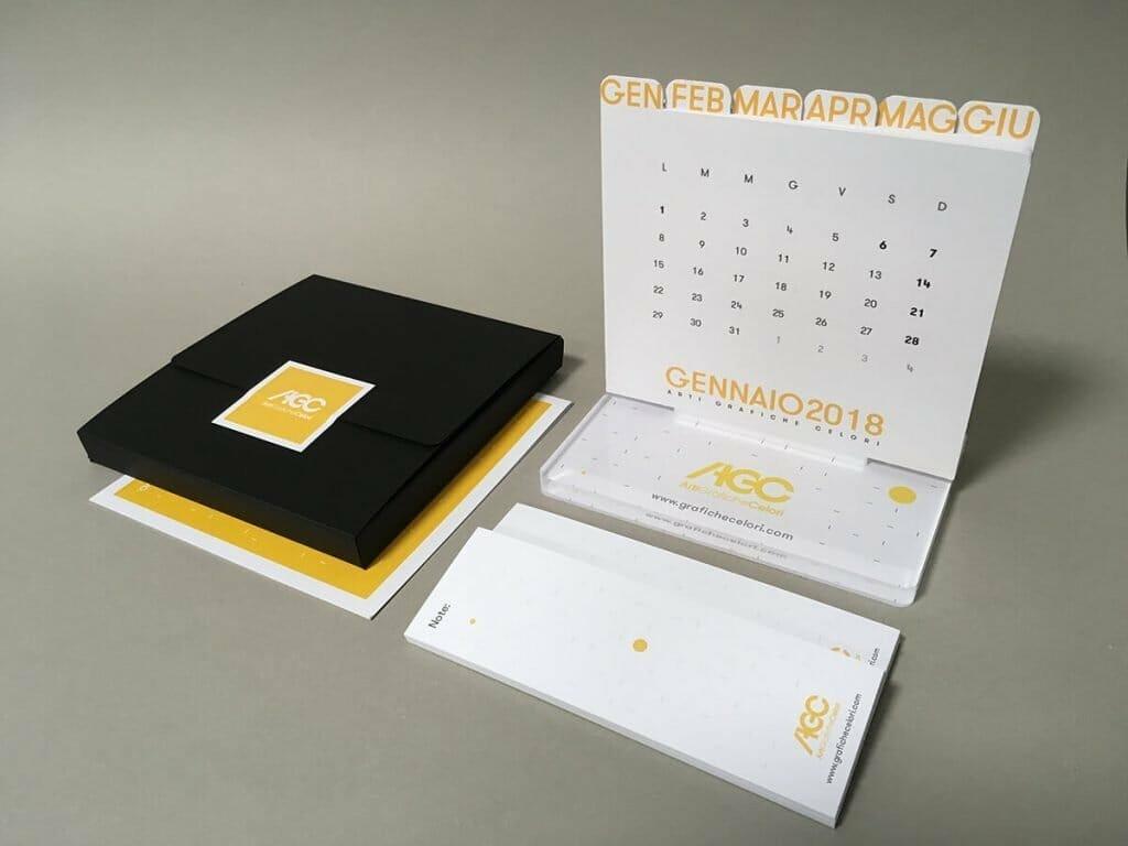 Calendario personalizzato. Un ottimo gadget da regalare ai tuoi clienti