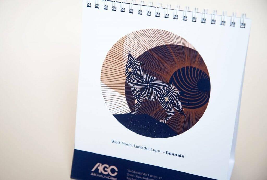 Il nuovo calendario 2020 di Arti Grafiche Celori