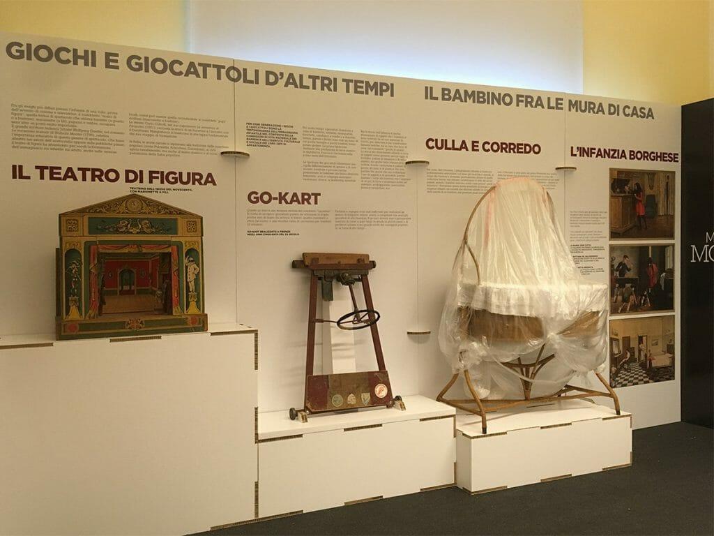 L'allestimento in cartone alveolare per il MuSEd di Roma