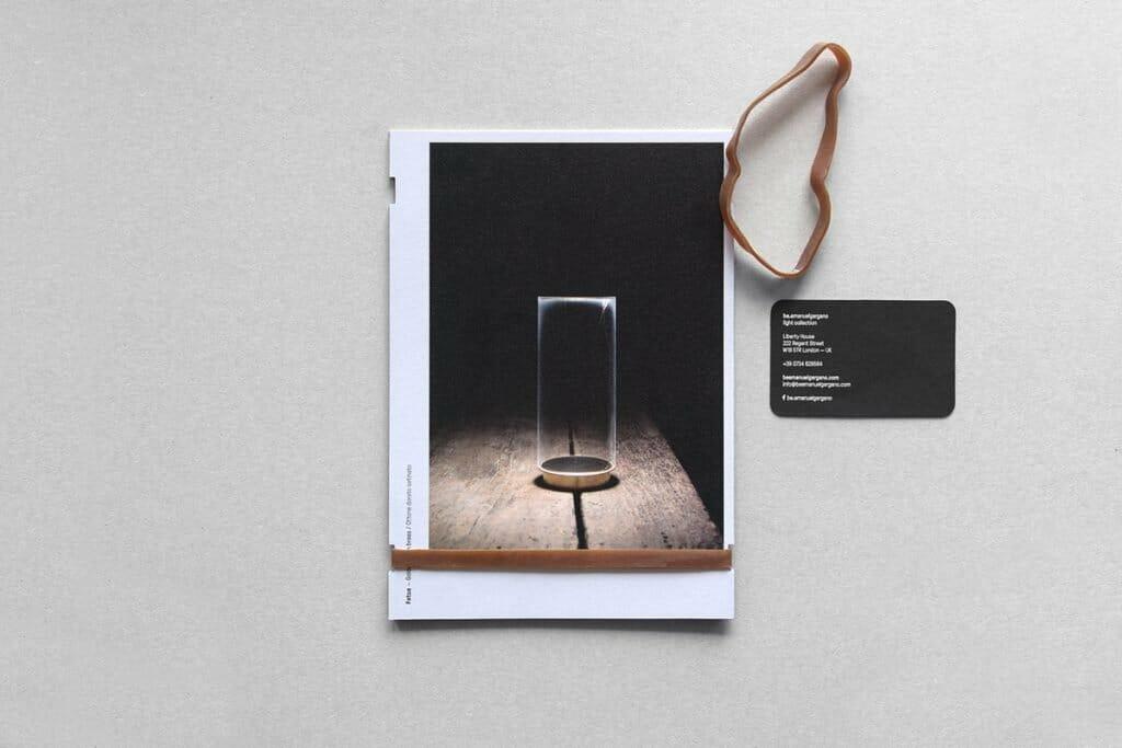 Il kit cartoline da collezione del designer Emanuele Gargano