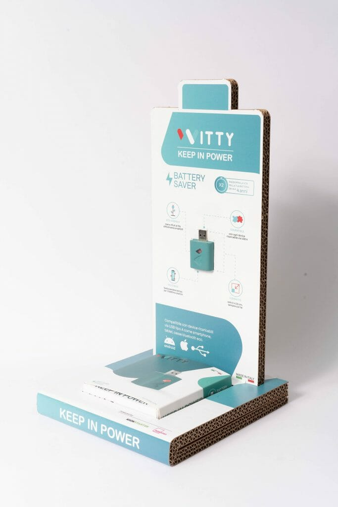 Desk display in cartone personalizzato