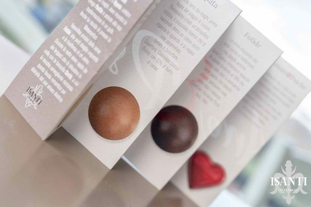 L'astuccio per cioccolatini del futuro. Funzionale, minimal e sostenibile