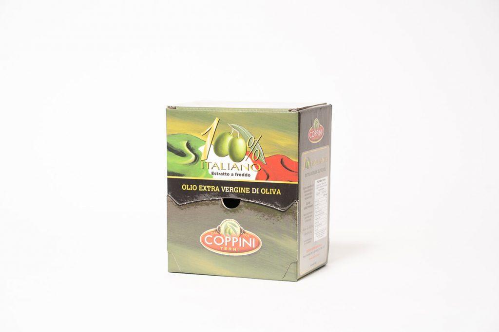 Espositore monodose per olio d'oliva