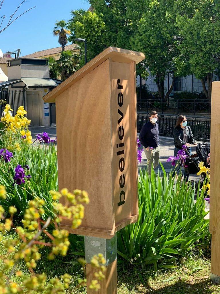 Beeliver: il rifugio per api selvatiche a tutela della biodiversità.